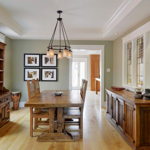 Seeing green guilford green color of the year for Light green dining room