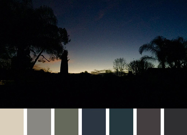 Moody Blues Color Palette